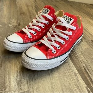 Converse 7 Red Chuck Taylor All Star Sneakers